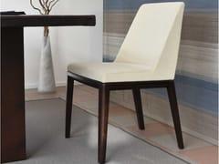 Sedia imbottita in tessuto con gambe in frassinoLENA - ART CASA