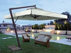 Scolaro Parasol, LEONARDO BRACCIO Ombrellone orientabile con palo laterale