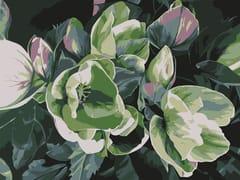 Tappeto a fiori rettangolare in lanaLEONORE - BLOSS