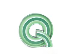 Lettera luminosa LETTER Q -