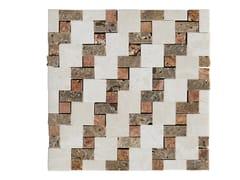 Mosaico in marmo LEVIGATI A MANO 01 - Design