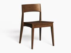 Sedia in multistrato con schienale apertoLH-42 | Sedia - LUKE HUGHES & COMPANY