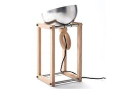 Lampada da tavolo orientabile in metallo LH22 - ECOLAB
