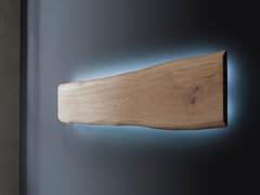 Lampada da parete a LED a luce indiretta in legno LH31 - ECOLAB