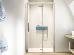 Box doccia a nicchia con porta scorrevole LIBERA L0 - Showering