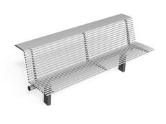 Metalco, LIBRE EVOLUTION   Panchina con schienale  Panchina con schienale