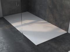 Piatto doccia rettangolare ultrapiatto in Corian®LIEGE - RILUXA