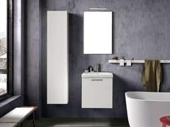 Mobile lavabo laccato sospeso con specchioLIGHT 01 - ARCHEDA