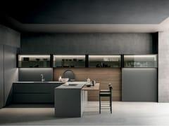 Cucina in legno con penisolaLIGHT   Cucina - MODULNOVA