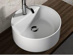 Lavabo da appoggio in ceramica in stile moderno LAVABI D'ARREDO | Lavabo rotondo - Lavabi d'arredo