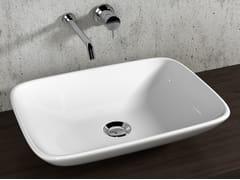 Lavabo da appoggio in ceramica in stile moderno LAVABI D'ARREDO | Lavabo - Lavabi d'arredo