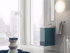 Mobile lavabo sospeso in laminato LILLIPUT - 1 - Lilliput