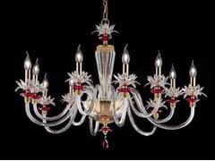 Lampadario in cristallo con cristalli Swarovski® LILY L6+6 - Lily