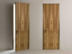 Porta a battente a filo muro con cerniere a scomparsaLINE | Porta a battente - LAURAMERONI