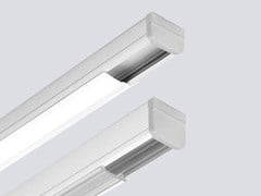 Profilo per illuminazione lineare da soffitto in alluminio per moduli LED LINE MINI P - Line