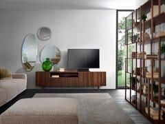Mobile TV in legno masselloLINE TV - PACINI & CAPPELLINI