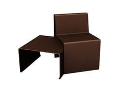 Seduta da esterni in metalloLINEA | Seduta da esterni - EUROFORM K. WINKLER