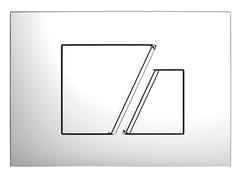 Placca di comando per wc in plasticaLINEA P2CLLIN - REDI