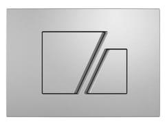 Placca di comando per wc in plasticaLINEA P2COLIN - REDI