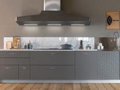 Cucina componibile lineare in laccato opaco Grigio LondraMESA | Cucina lineare - TONCELLI