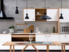 Cucina componibile lineare in Fenix Bianco MalèLEPIC | Cucina lineare - TONCELLI