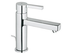 Miscelatore per lavabo da piano monocomando con piletta LINEARE SIZE M | Miscelatore per lavabo - Lineare
