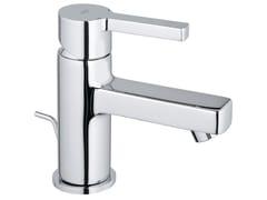 Miscelatore per lavabo da piano monocomando con piletta LINEARE SIZE XS | Miscelatore per lavabo - Lineare