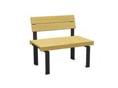 Seduta da esterni in legnoLINEASEDIA - EUROFORM K. WINKLER