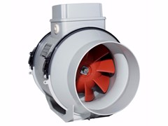 Aspiratore centrifugo assiale in linea energy-savingLINEO 160 V0 ES - VORTICE ELETTROSOCIALI