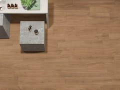 Pavimento/rivestimento in gres porcellanato a tutta massa effetto legnoLINEO BROWN - CERAMICHE KEOPE