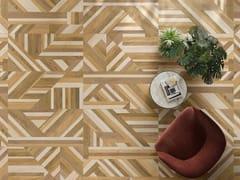 Pavimento/rivestimento in gres porcellanato a tutta massa effetto legnoLINEO ROW - CERAMICHE KEOPE