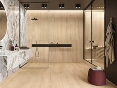 Pavimento/rivestimento in gres porcellanato effetto legnoLINEO SAND - CERAMICHE KEOPE