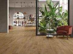 Pavimento/rivestimento in gres porcellanato effetto legnoLINEO WALNUT - CERAMICHE KEOPE