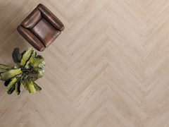 Pavimento/rivestimento in gres porcellanato a tutta massa effetto legnoLINEO WHITE - CERAMICHE KEOPE