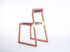 Sedia in legno masselloLINES - ATELIER C.U.B