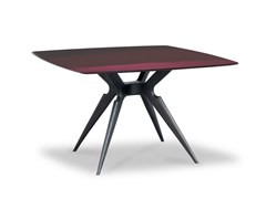 Tavolo laccato quadrato LIQUID LUNCH | Tavolo quadrato -