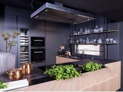 Top cucina in Lapitec®LITHOS - NERO ASSOLUTO - LAPITEC