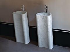 Lavabo freestanding rettangolare in marmoLITO 2 - AGAPE