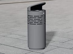 Portarifiuti in acciaio inox con coperchio per esterniLITTER BIN 1220 | Portarifiuti con coperchio - BENKERT BÄNKE