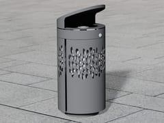 Portarifiuti in acciaio inox con coperchio per esterniLITTER BIN 1410 | Portarifiuti con coperchio - BENKERT BÄNKE