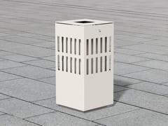 Portarifiuti in acciaio inox per esterniLITTER BIN 1510 | Portarifiuti - BENKERT BÄNKE