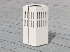 Portarifiuti in acciaio inox per esterniLITTER BIN 1520 | Portarifiuti - BENKERT BÄNKE