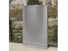 Portarifiuti in alluminio per esterniFONTANA | Portarifiuti - URBIDERMIS