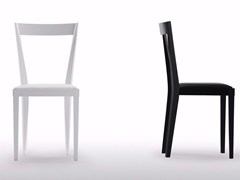 Sedia in legno con cuscino integrato LIVIA | Sedia con cuscino integrato -