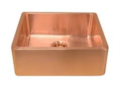 Lavello a una vasca in rameLIVIA | Lavello a una vasca - BLEU PROVENCE