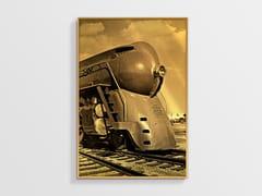 Stampa ad alta qualità fotografica su lastra AllurexLOCOMOTIVE NCD-AG-S036 - SPAZIO 81