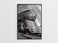 Stampa ad alta qualità fotografica su lastra AllurexLOCOMOTIVE NCD-AS-S036 - SPAZIO 81