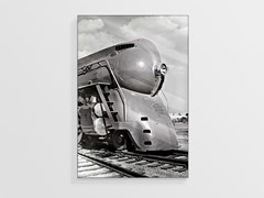 Stampa fotografica in Plexiglas®LOCOMOTIVE NCD-LU-S036 - SPAZIO 81