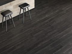 Pavimento/rivestimento in gres porcellanato effetto legnoLOFT Lava - ITALGRANITI