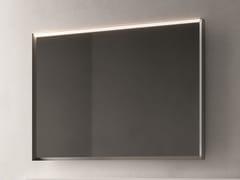 Cerasa, LOFTY 1 Specchio con illuminazione integrata da parete per bagno